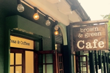 Brown & Green Cafe