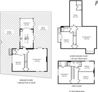 Large floorplan for Clifton Road, Wimbledon Village, SW19
