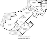 Large floorplan for Stevenage Road, Bishop's Park, SW6