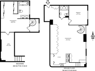 Large floorplan for Southey Road, Wimbledon, SW19
