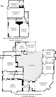 Large floorplan for Wonersh Common, Wonersh, GU5