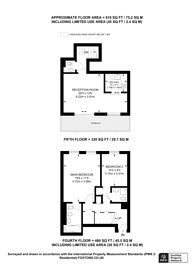 Large floorplan for Lexham Gardens, Kensington, W8