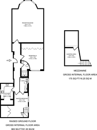Large floorplan for Old Brompton Road, Earls Court, SW5