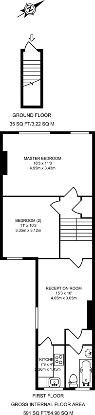 Large floorplan for Priolo Road, Greenwich, SE7