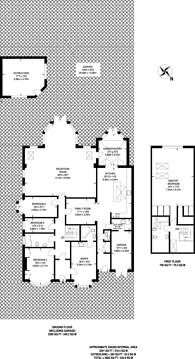 Large floorplan for Cromwell Road, Worcester Park, KT4