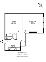 Large floorplan for Margery Street, Finsbury, WC1X
