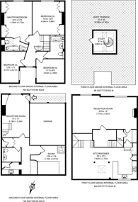 Large floorplan for Redfield Lane, Earls Court, SW5