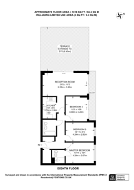 Large floorplan for The Blenheim Centre, Hounslow, TW3