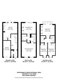 Large floorplan for Steeple Close, Bishop's Park, SW6