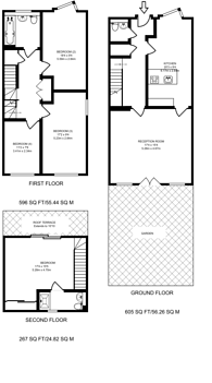 Large floorplan for Axis Court, Greenwich, SE10