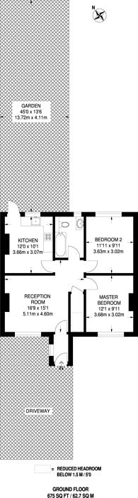 Large floorplan for Tunnel Avenue, Greenwich, SE10