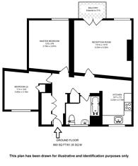 Large floorplan for Tabard Street, Borough, SE1