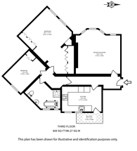 Large floorplan for South Grove, Hillgate Village, N6