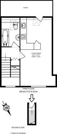 Large floorplan for Norwood Road, West Norwood, SE27