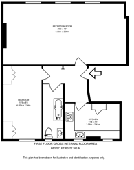 Large floorplan for Gloucester Crescent, Camden, NW1