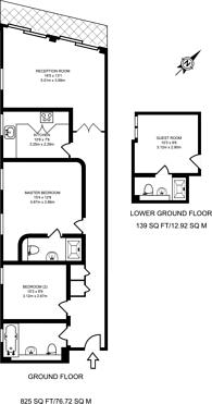 Large floorplan for High Street, Harrow on the Hill, HA1