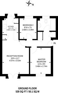 Large floorplan for Caravel Close, Isle Of Dogs, E14