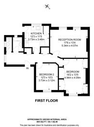 Large floorplan for Cecil Park, Pinner, HA5
