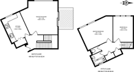 Large floorplan for Burr Close, Wapping, E1W