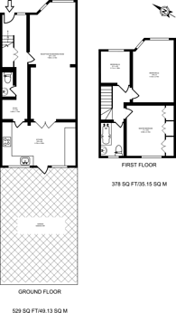 Large floorplan for Cypress Road, Harrow Weald, HA3