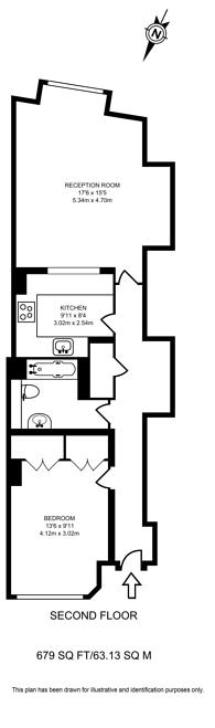Large floorplan for Jamestown Road, Camden, NW1