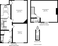 Large floorplan for Alyth Gardens, Temple Fortune, NW11