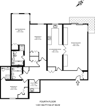 Large floorplan for Sudbury Hill, Harrow on the Hill, HA1