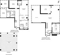 Large floorplan for Marathon House, Marylebone, NW1
