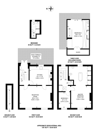 Large floorplan for Torriano Avenue, Kentish Town, NW5