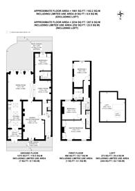 Large floorplan for Ravenscourt Gardens, Ravenscourt Park, W6