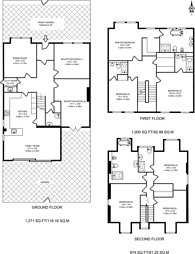 Large floorplan for Mattock Lane, Ealing, W5