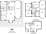 Large floorplan for The Ridings, Ealing, W5