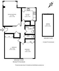 Large floorplan for Wimbledon Park Road, Wimbledon, SW19
