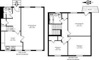 Large floorplan for Totteridge Lane, Totteridge, N20