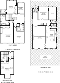 Large floorplan for Bancroft Avenue, East Finchley, N2