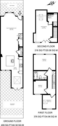 Large floorplan for Brunswick Park Road, New Southgate, N11