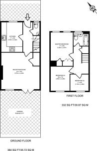 Large floorplan for Swaledale Close, Friern Barnet, N11