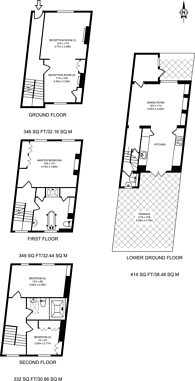 Large floorplan for Burgh Street, Angel, N1
