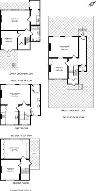 Large floorplan for Canonbury Park North, Canonbury, N1