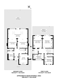 Large floorplan for Albany Park Road, Kingston, KT2