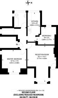Large floorplan for Portsmouth Road, Guildford, GU2