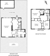 Large floorplan for Holtwhite Avenue, Chase Side, EN2