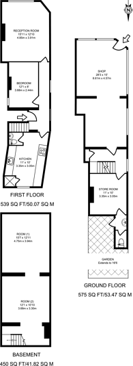 Large floorplan for Haydon Place, Guildford, GU1