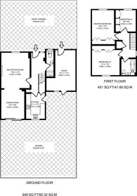 Large floorplan for Wintergreen Close, Beckton, E6