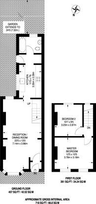 Large floorplan for Wakelin Road, Stratford, E15