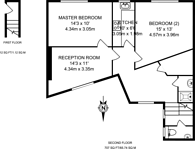 Large floorplan for Ridley Road, Dalston, E8