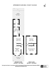 Large floorplan for Thorpe Road, Forest Gate, E7