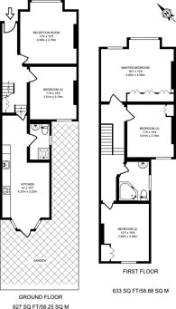 Large floorplan for Natal Road, Thornton Heath, CR7