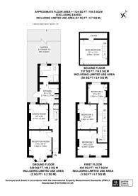 Large floorplan for Livingstone Road, South Norwood, CR7
