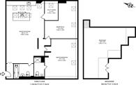Large floorplan for Brook Road, Gladstone Park, NW2